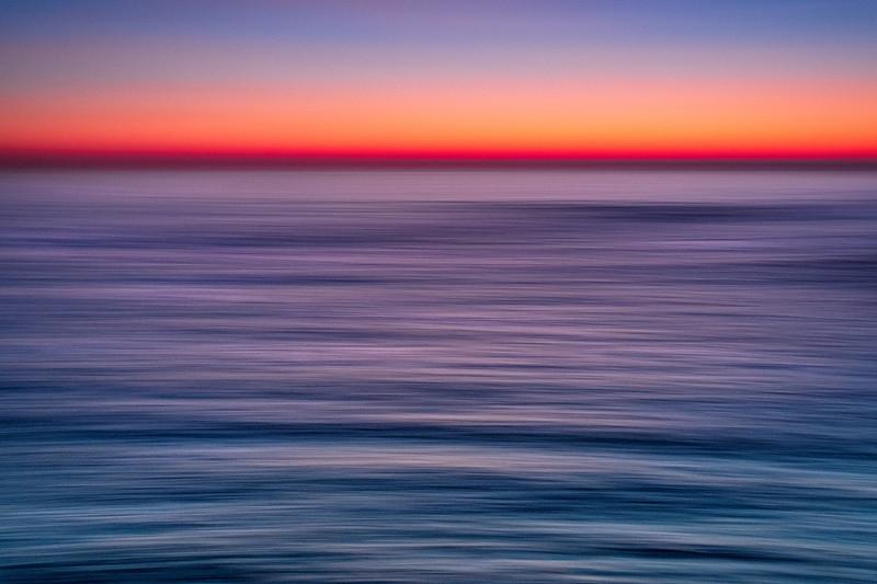 Moving Sunset, Sea Ranch, California