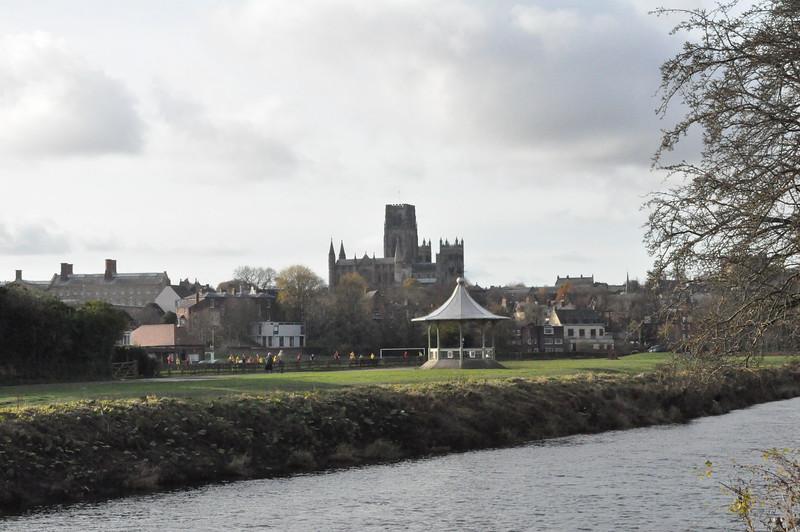 Durham Cathedral with bandstand in foreground - Richard Cowen - DSC_0087.JPG