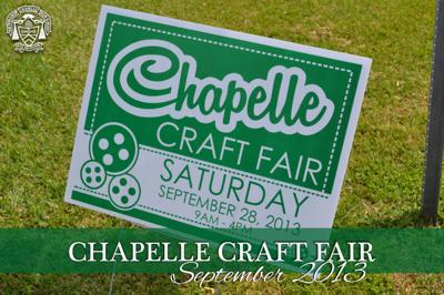 Chapelle Craft Fair 2013