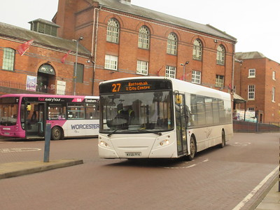 WORCESTERSHIRE BUSES MARCH 2021