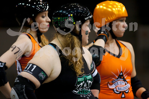 2012.04.14 - Green Country Roller Girls v Sin City RollerGirls All-Stars