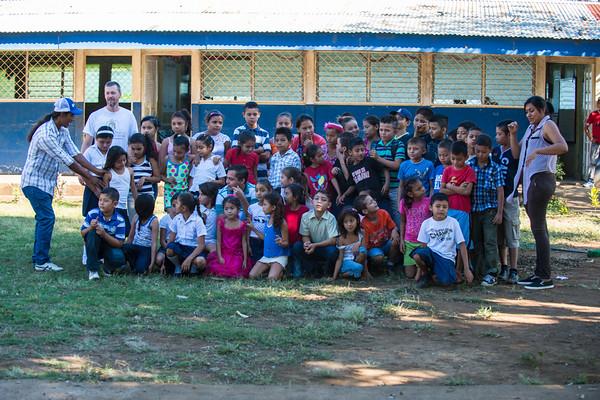 Students of San Diego School Nicaragua