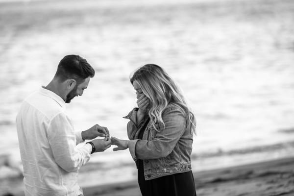 Jesse Proposal to Kayla @ Capitola Beach