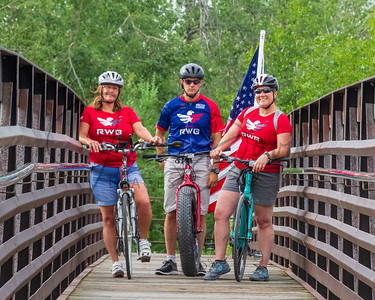20180709, Team RWB OGR Monday Bike Ride