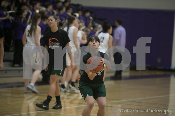 2018-01-19 Issaquah Girls Basketball vs Skyline