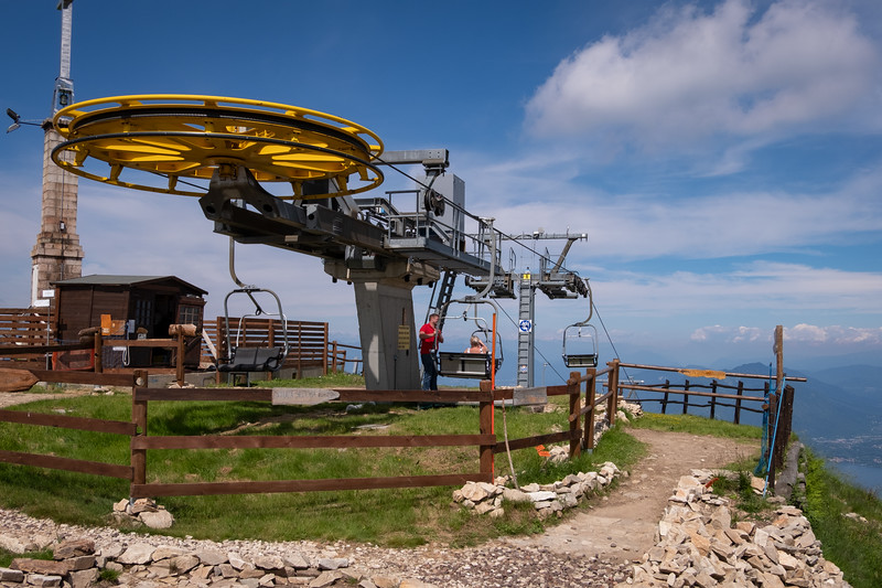 Mount Mottarone Cable Chair Lift Station