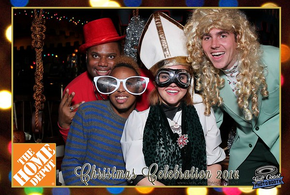 Home Depot Christmas Party 2014