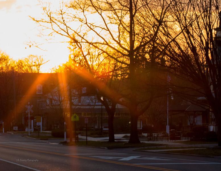 Sunset April 7, 2013