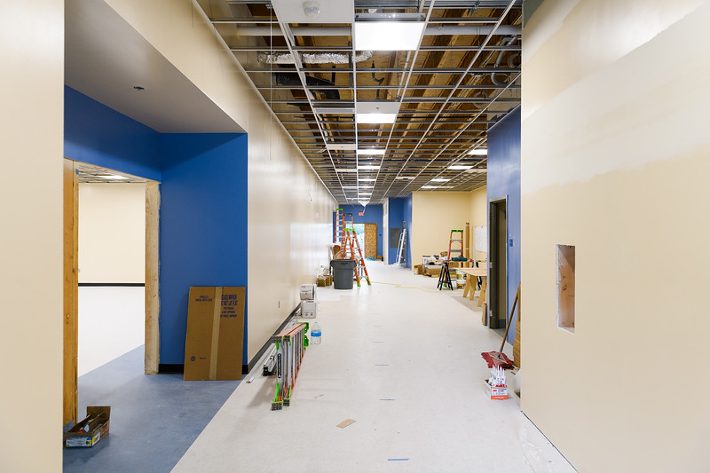 Gubser Elementary under construction on Friday, August 16, 2019, in Keizer, Ore.