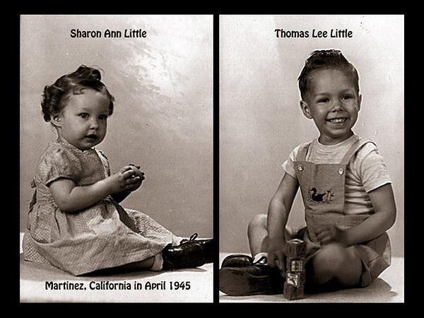 Sherry Little, Martinez, California in April 1945.