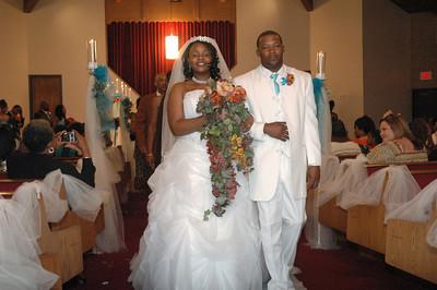 Andrea & Cortez Wedding Oct 18, 2008