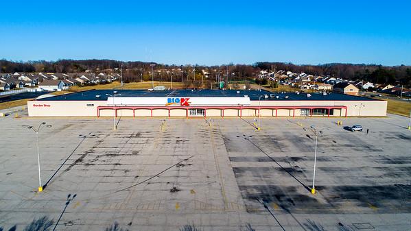Abandoned K-Mart Spring Drone