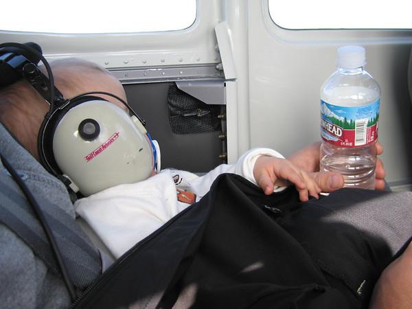 Owen's first flight in N104XP