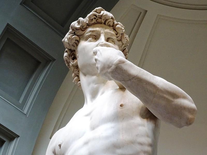 Statue of David -3 days in Florence Itinerary