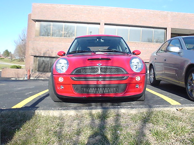 Road Trip to California to Deliver Mini Cooper S - 2004