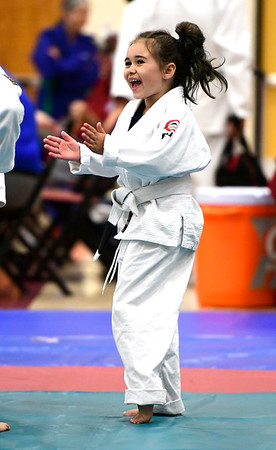 7/21/2018 Mike Orazzi | Staff Mackenzie Dunn during the Nutmeg Games Judo held at New Britain High School Saturday morning.