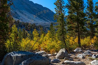 2019 Fall Colors at Rock Creek Canyon Lake 2