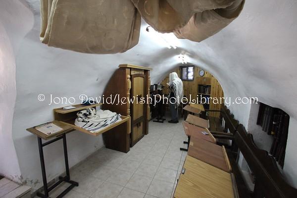 WEST BANK, Hebron. Ancient Synagogue (at Grave of Yishai and Ruth). (3.2012)