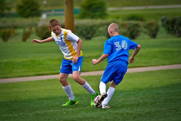 Ascension Soccer vs Klostermann Sept 2014