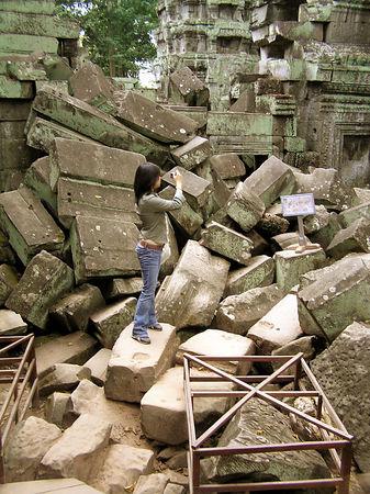 Ta Phrom Temple - Angkor
