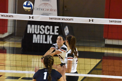 Davidson Volleyball vs Duquesne
