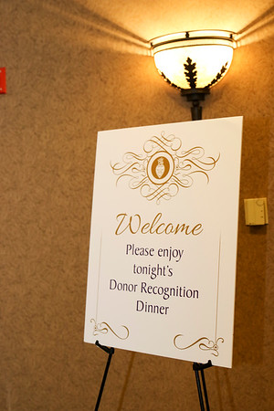 Donor Recognition Dinner