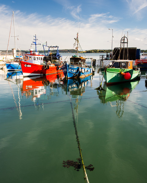 Fishing boats at Cobh