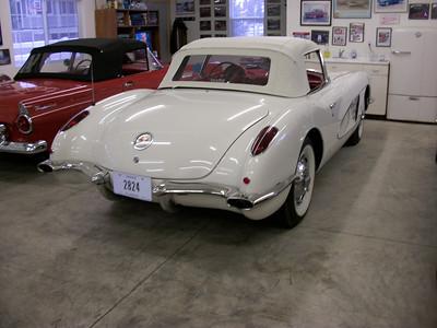 1960 Corvette, Ermine White - SOLD