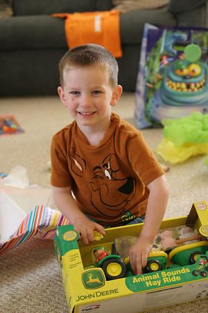 Zack's 3rd Birthday - May 20, 2007
