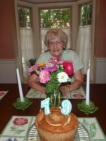 Mom's 79th Birthday - 2012