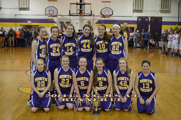8th Grade Championship NW vs WS 1-31-15