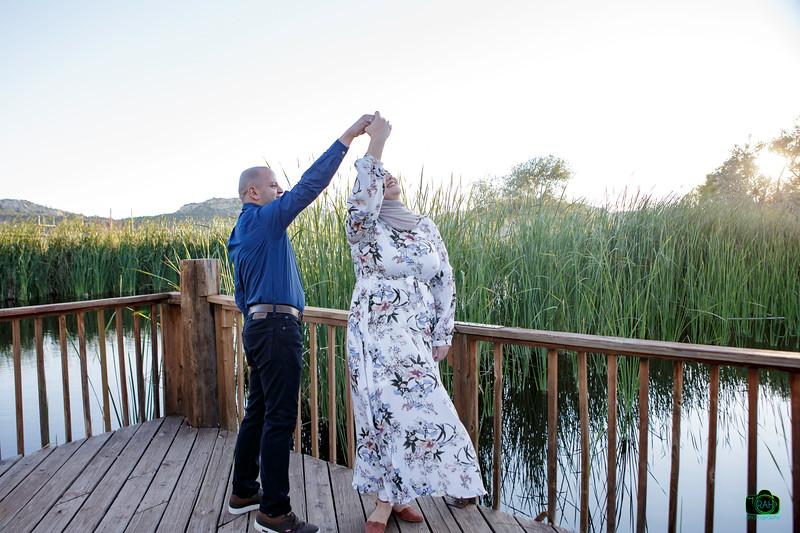 Mohammad & Hilwah Engagement Pix