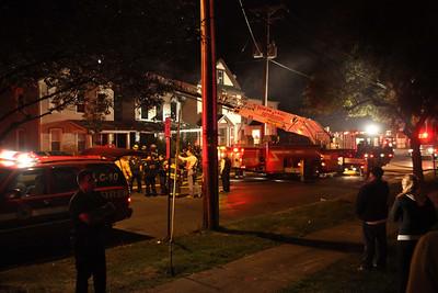 Poughkeepsie Fatal Fire - Mansion Street - Oct. 2, 2009