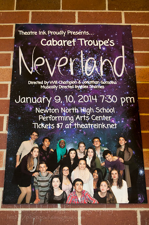 Cabaret Troupe 2014-Neverland