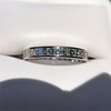 3.00ctw Carre Cut Diamond Eternity Band, in Platinum 4