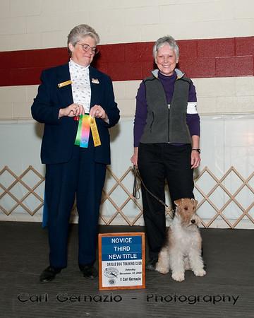 Winners, Obedience, Saturday, December 12, 2009