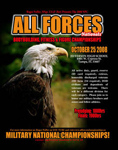 ALL FORCES BODYBUILDING , FITNESS & FIGURE CHAMPIONSHIPS