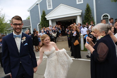 Northfield Wedding Ceremony & Departure