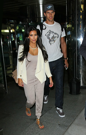 2011-09-05 - Kim Kardashian and Kris Humphries