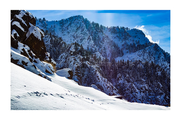 Big Cottonwood Canyon, Utah Winter
