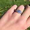 2.50ctw Emerald Cut Diamond 3-stone Ring, GIA E VS1 23