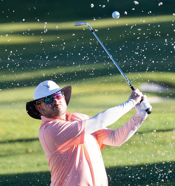 The Straight Down Invitational held its opening round at San Luis Obispo Country Club . Photo by Owen Main 12/1/18