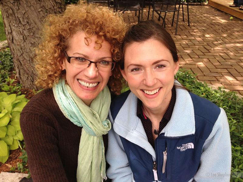Joann and I- May 2013