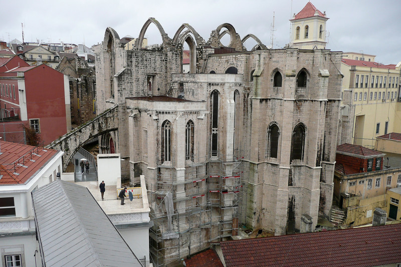 Igreja do Carmo. Bairro Alto, Lisbon