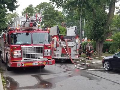 September 9, 2020 - Working Fire - 223 Greer Rd.