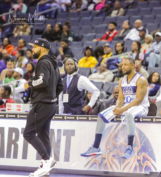 Kenny Burns & Tank CIAA 2018 Lockhart Entertainment Celebrity Game
