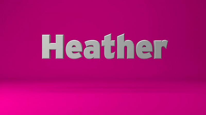 Heather VO Sample