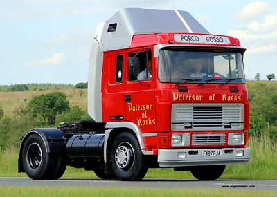 Ayrshire Vintage Commercial Vehicle Road Run 2021 10.07.21