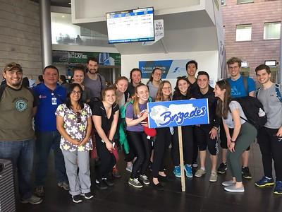 Brigade Group Photos at Airport (May 2018)