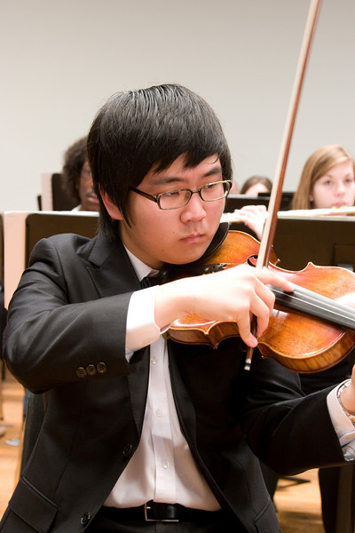 Philip Yang, violin -- Hopkins Symphony Orchestra, March 2008